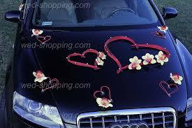 decoration pour voiture de mariage