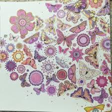 Colouring Gallery Johanna BasfordColoring BooksColouringSecret Gardens GalleryButterflyColoring