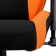 orange siege siège gaming nitro concepts s300 noir et orange tissu