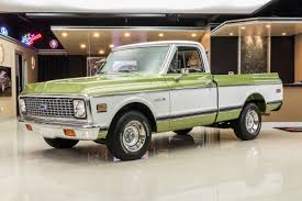 100 1971 Chevrolet Truck C10 Classic Cars For Sale Michigan Muscle Old