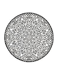 Free Background Coloring Mystical Mandala Book Download New At From The