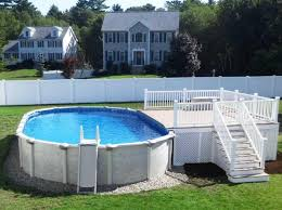 Above Ground Pool Ladder Deck Attachment by 40 Uniquely Awesome Above Ground Pools With Decks