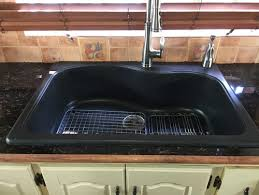 Cloudy Water From Sink by Cleaning A Black Granite Sink