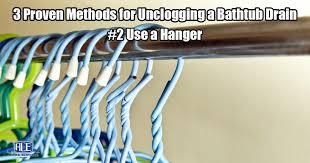 Unclogging Bathtub Drain Twist Turn by 3 Proven Methods To Unclog A Bathtub Drain Blockage Ace Home