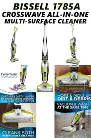 Haan Floor Steamer Wont Turn On by Bissell 1785a Crosswave All In One Multi Surface Reviews