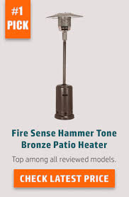 Fire Sense Deluxe Patio Heater Stainless Steel by Best Patio Heaters Of 2017 Detailed Reviews With Buying Guide