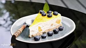 cheese cake mit pfirsich und kokos ohne backen