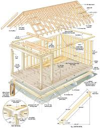 10 X 16 Shed Plans Free by Best 25 Small Cabin Plans Ideas On Pinterest Tiny Cabins Small