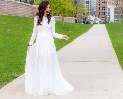 all white everything lace and tulle maxi dress