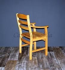 armlehnstuhl erle massiv geölt stuhl mit armlehnen holz