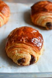 Flaky Buttery Delicious Croissant Dough Filled With Melty Dark Chocolate A Foolproof Recipe For Homemade Pain Au Chocolat
