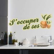 stickers cuisine phrase sticker s occuper de ses oignons