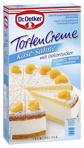 dr oetker tortencreme käse sahne 11er pack 11 x 150g