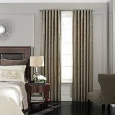 damask blackout curtains drapes for window jcpenney