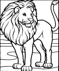 Lion Coloring Pages To Print