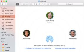 Use AirDrop to send content from your Mac Apple Support