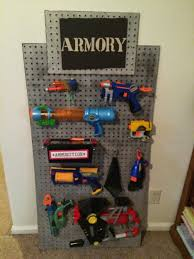 Diy Hidden Gun Cabinet Plans by Nerf Storage Ideas A And A Glue Gun