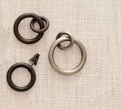Restoration Hardware Curtain Rod Rings by Lisa Mende Design How To Make Ready Made Drapery Look Custom On