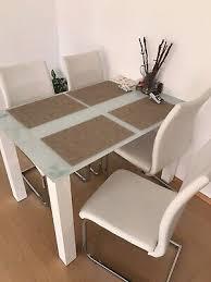 esstisch mit 4 stühlen 80cm rund küchentisch esszimmertisch