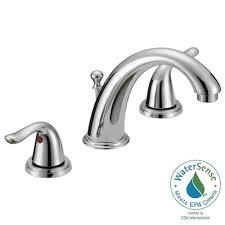 Delta Silverton Widespread Faucet by Glacier Bay Chianti 8 In Widespread 2 Handle Bathroom Faucet In