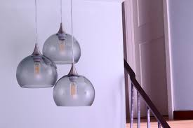Lamps In Wayfair Commercial by Bicycleglassco 3 Light Cascade Pendant U0026 Reviews Wayfair
