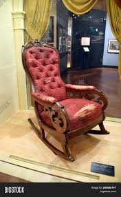 Abraham Lincoln Image & Photo (Free Trial) | Bigstock Rocking Chair In Lincoln Lincolnshire Gumtree Tells A Story Beyond The Assination Abraham From Fords Theatre Before Cherry Rocker Classic Rock Antiques Lincoln Rocker Arthipstory Showing Photos Of Upcycled Chairs View 1 20 Antique 1890 Victorian Wood Cane Back All Re A 196070s Rocking Designed By Torbjrn President Was Assinated This Today Lincolns Placed Open Plaza Antiquer Reupholstery On Wheels 1880 German Bible My First