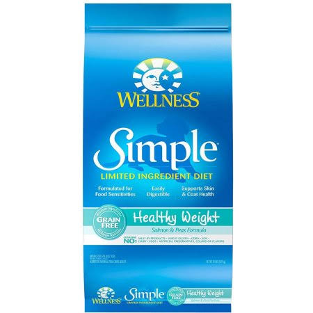 Wellness Simple Healthy Weight Dry Dog Food - Salmon & Peas Formula