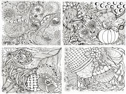Printable Calendar Coloring Pages Adult Zen Doodles To Color