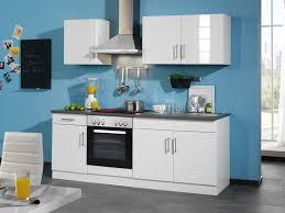 held küchenzeile nevada b 210 cm mit elektrogeräten aus mdf 28 mm arbeitsplatte