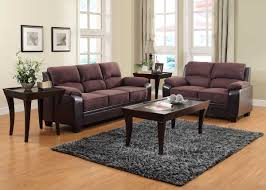 Living Room Colour Ideas Brown Sofa by Living Room Comfortable Brown Microfiber Couch For Elegant Living