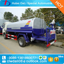 100 Water Tanker Truck 6 Wheels High Quality