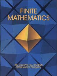 Finite Mathematics Stewart A J