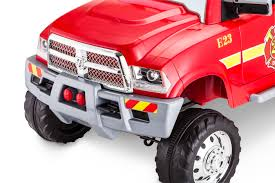 100 Kid Trax Fire Truck Battery 12Volt RAM 3500 RideOn Toy Car By Red