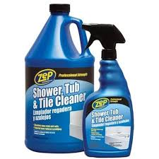zep commercial shower tub and tile cleaner 1 gal walmart