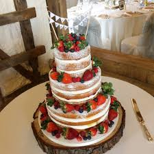 The Naked Cake Hugely Popular Perfect For Informal Weddings With A Rustic Or Vintage Theme And Great If You Dont Like Icing Quite Lot Of