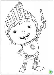 Mike The Knight Coloring Pages Printable