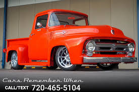 100 Custom Truck Hq 1956 Ford F100 One Off Restomod For Sale AllCollectorCarscom