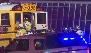 Truck Collides Head-on With Illinois School Bus; 2 Dead | AP & Wire ...