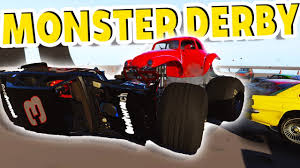 MONSTER TRUCK DEMOLITION DERBY IN THE SKY! - Next Car Game Wreckfest ...