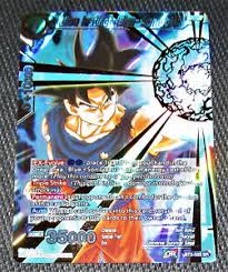 Image Is Loading Ultra Instinct Sign Son Goku BT3 033 SR