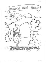 King Saul Coloring Pages Free
