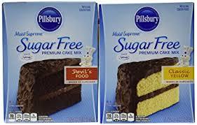 Amazon Pillsbury Sugar Free Cake Mix Value Bundle 1 Box