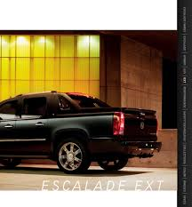 2013 Cadillac Escalade Brochure Grand Rapids Used Vehicles For Sale The Cadillac Escalade Ext Crew Cab Luxury Both Work And Play Wikipedia 2013 Reviews Rating Motor Trend 2010 Hybrid Review Ratings Specs Prices Carrolltown Steering Wheel Interior Photo Ats Savini Wheels Magnificent Pickup Wagens Club Vin 3gyt4nef9dg270920 Autodettivecom First Drive 2012 Esv Platinum Awd Spied 2014 In Short And Longwheelbase Versions