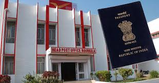 Now passport services available at 3 Head Post fices in Odisha