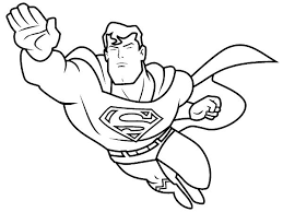 Holiday Coloring Online Free Superhero Pages At