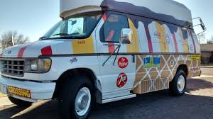 Ice Cream Truck.Custom, Colorful Van Concession Food Events, Money Maker
