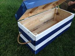 diy toy chest with lid woodworking design furniture