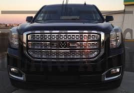 Amazon.com: 2015-2018 GMC Yukon Chrome Mesh Grille Grill Insert ... Custom Grill Mesh Kits For Nissan Vehicles By Custcargrillscom For Acura Tl Best Truck Resource Jrs Auto Jeeps Trucks Sprinters Autos Work Two Grills To Make One Bumper 1953 Chevy Billet Grilles Your Car Truck Jeep Or Suv Lift Accsories Agricultural Equipment More Classic Trucks Grills Black Tshirt Tread Wear Tshirts Car And Cummins Diesel 2006 Dodge 2500 3500 Studded Grille Running Boards Brush Guards Mud Flaps Luverne Sharp Big Lettering Toyota Customcargrills