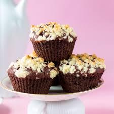 Schoko Muffins Mit Streuseln Und Fullung Vegan