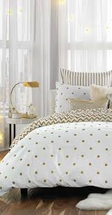 Gold dot bedding gold decor bedroom beddingbasics